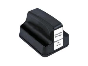 02 compatible black ink cartridge for hp